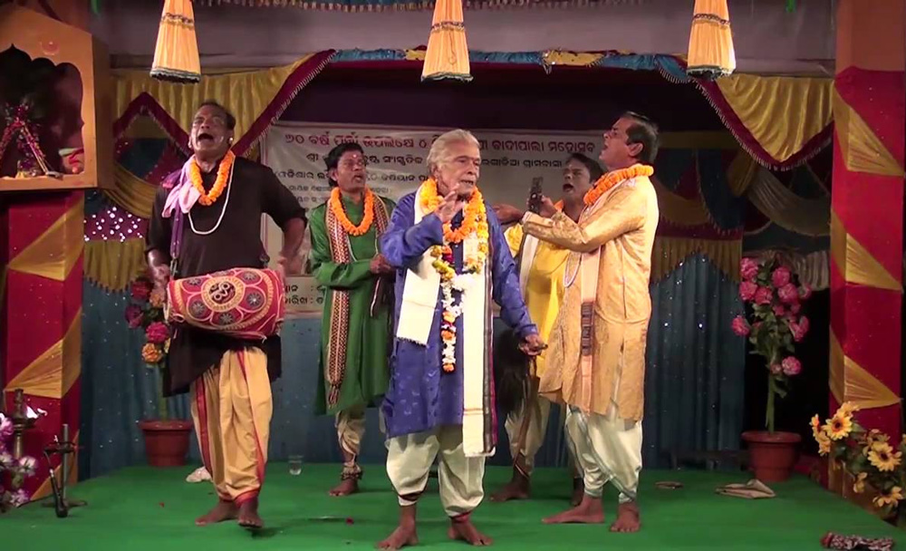 The main artist is the gayak or singer supported by other four-five members. Pic: Odisha Tourism 30stades