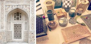Latticework: How the Persian stone craft moved from Taj Mahal to living rooms for survival jali architecture red fort sandstone marble 30stades
